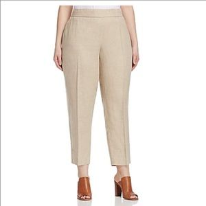 Eileen Fisher Linen Ankle Length Pants, Size S